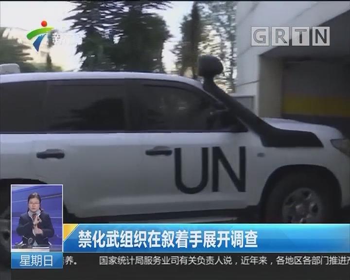 禁化武组织在叙着手展开调查