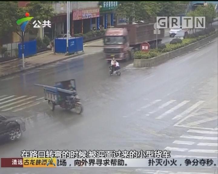 韶关:男子骑三轮车被撞 却要负主要责任