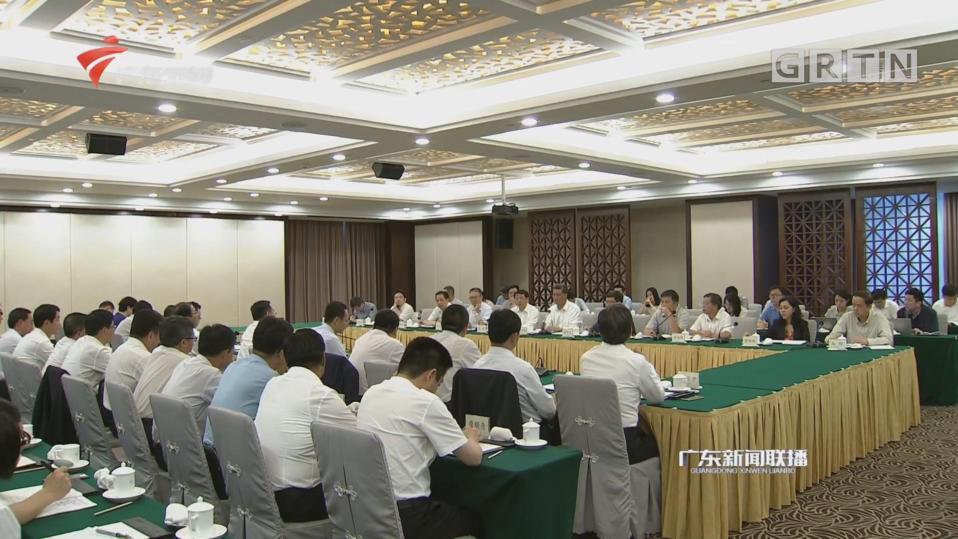 甘肃省政府代表团来粤考察推动两省合作 李希 马兴瑞 唐仁健参加有关活动