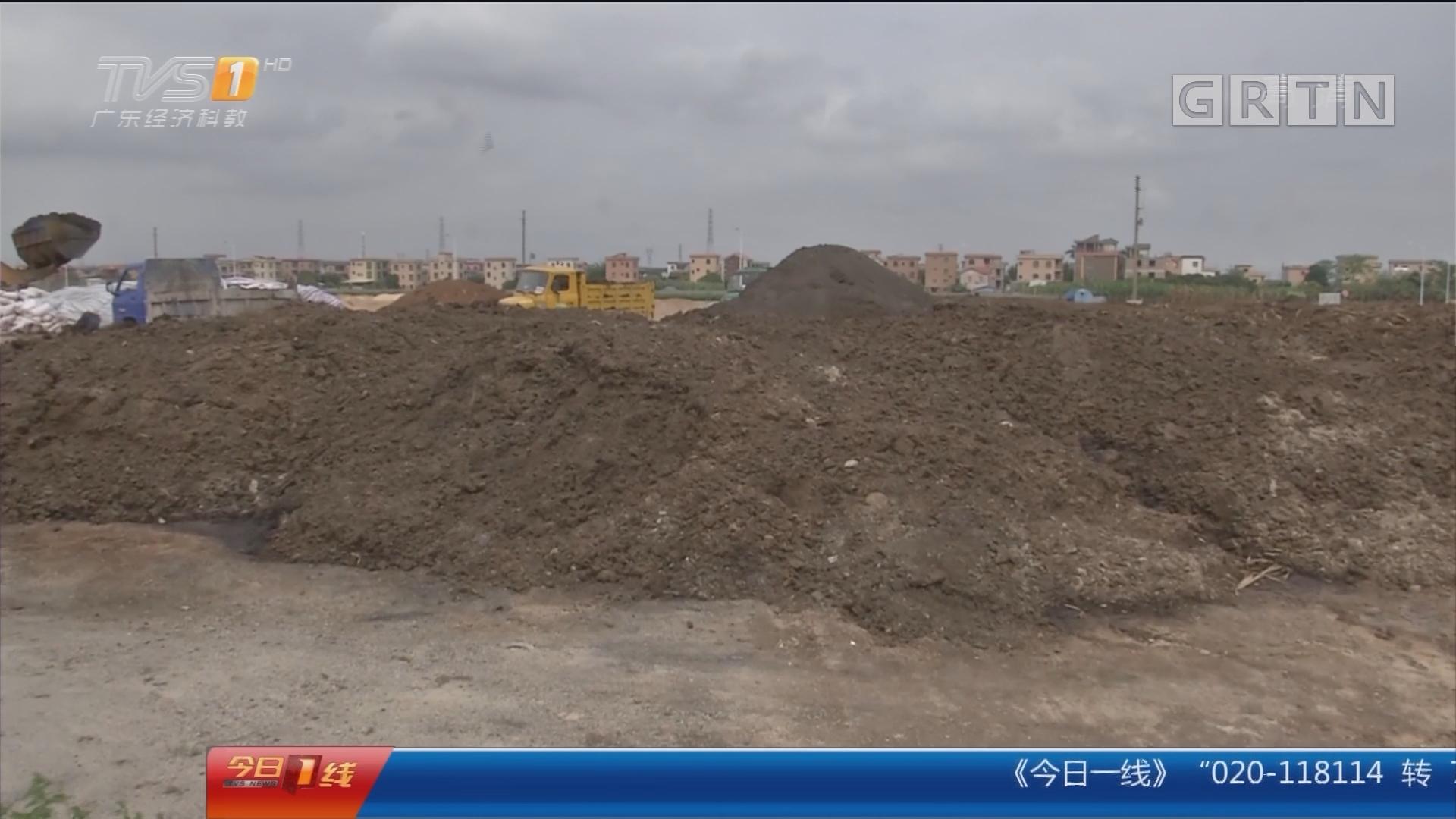 广州南沙:臭臭臭!百吨牛粪家门前堆积如山