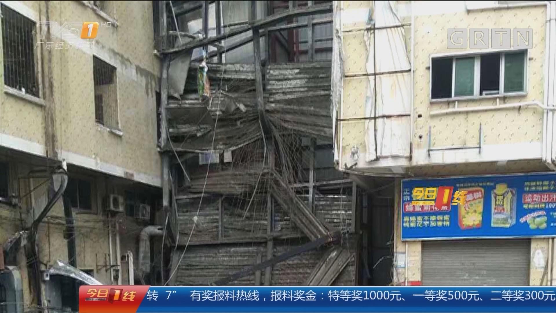 东莞:工厂改建时坍塌 致一死一伤