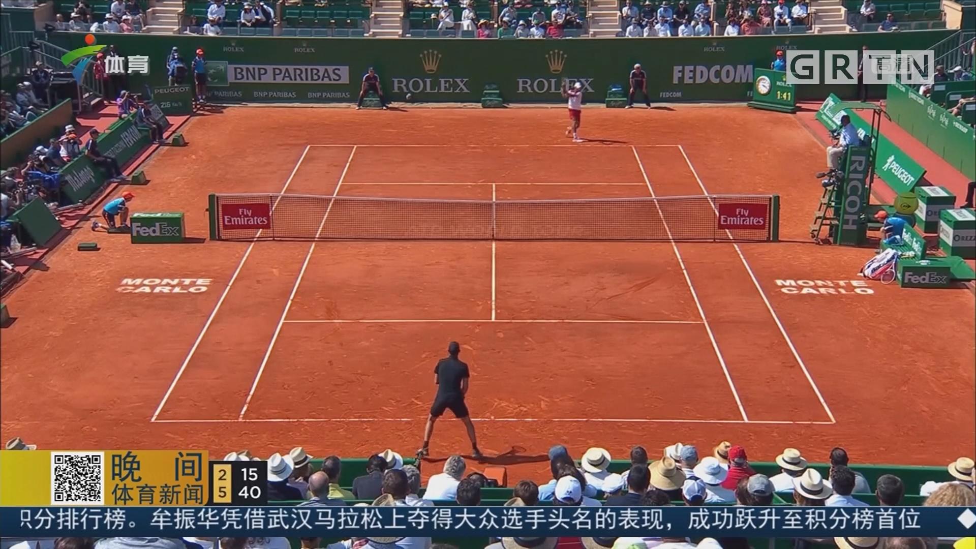 ATP蒙特卡洛大师赛 蒂姆击败小德 将战纳达尔