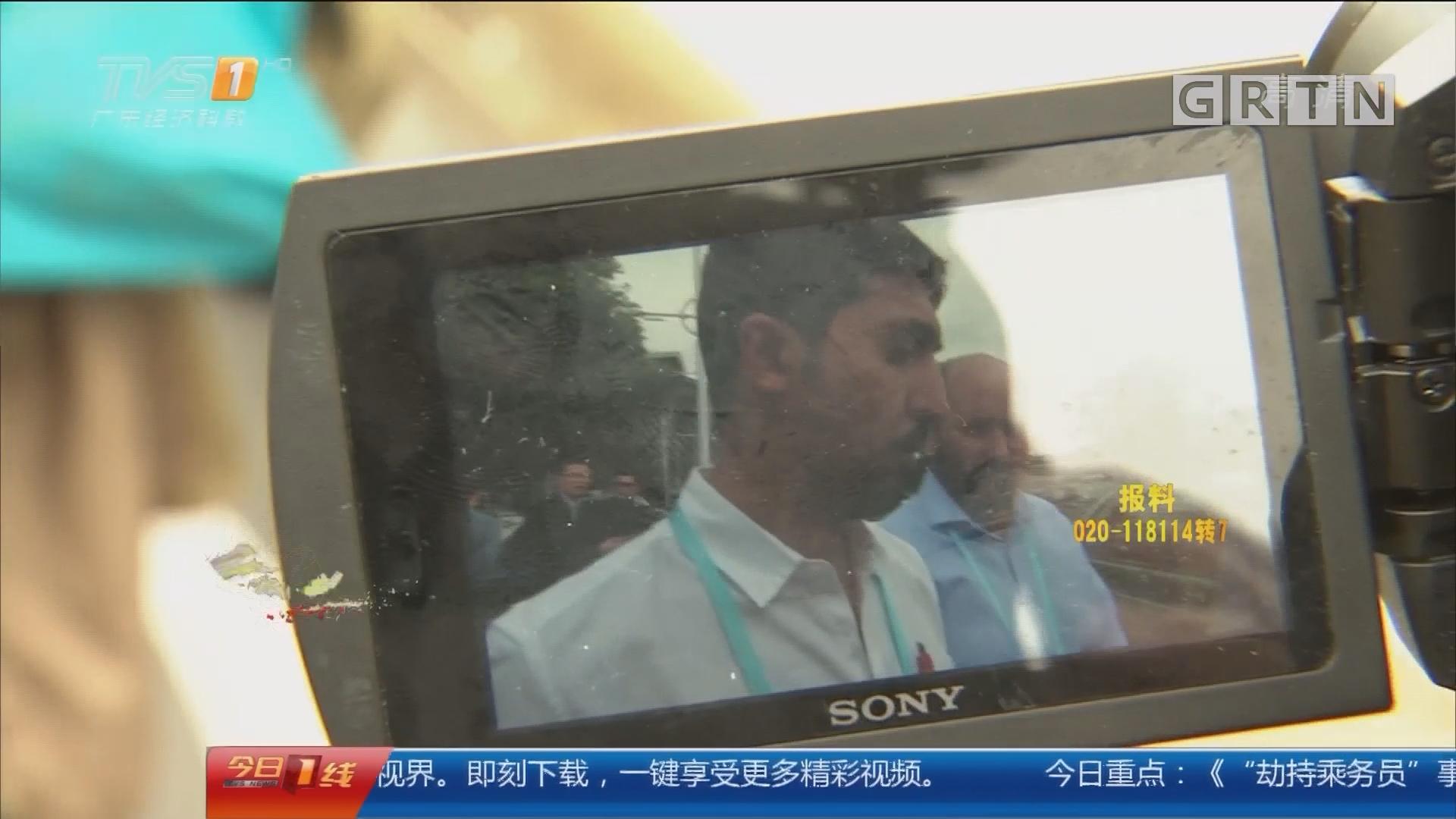 广交会首日交委查车:司机议价被查还喊冤 被视频打脸!