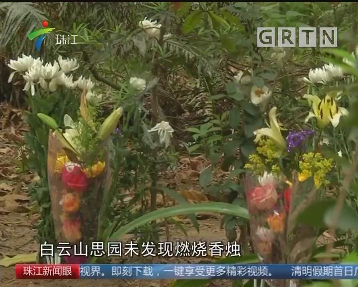 广州:大力推广无烟拜祭 文明祭扫蔚然成风