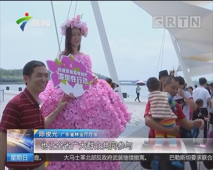 广东18城同办森林城市主题宣传活动