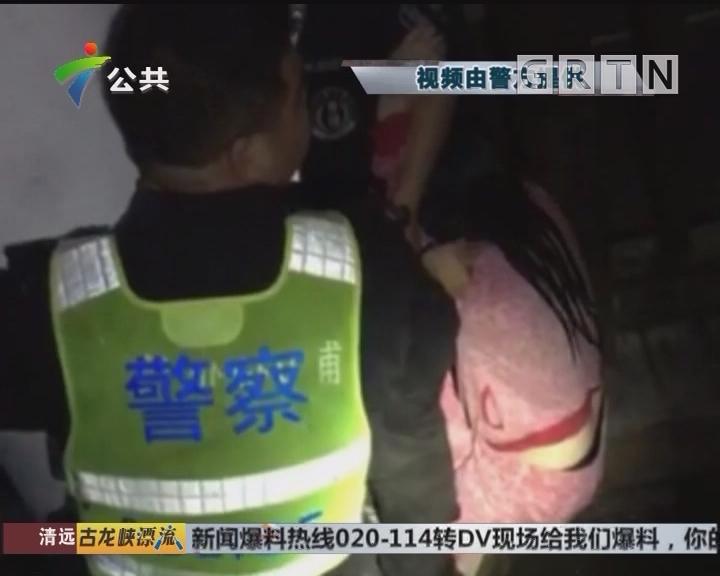 中山:醉酒女子深夜坠河 辅警跳水救人