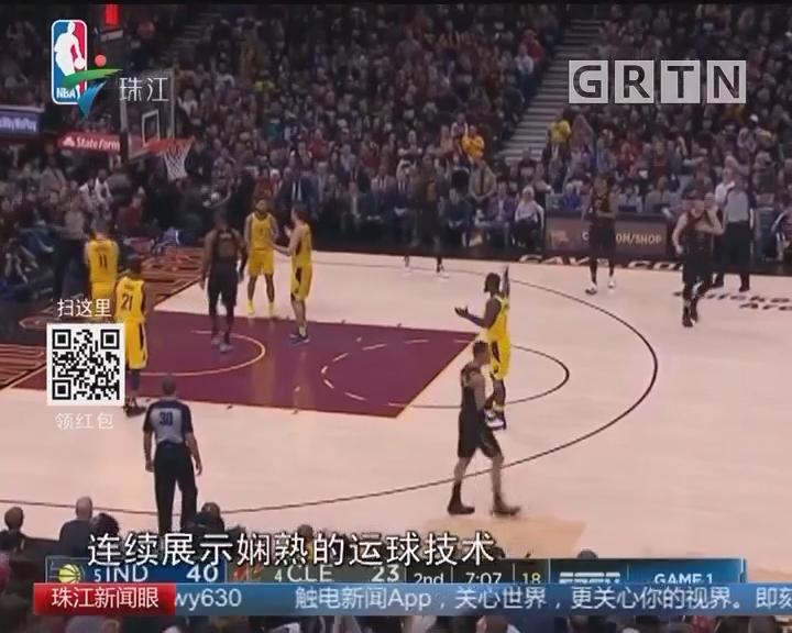NBA:詹姆斯空砍三双 骑士不敌步行者