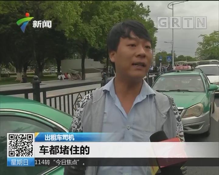 保障广交会交通:琶洲展馆周边执法 半小时查5宗出租违规