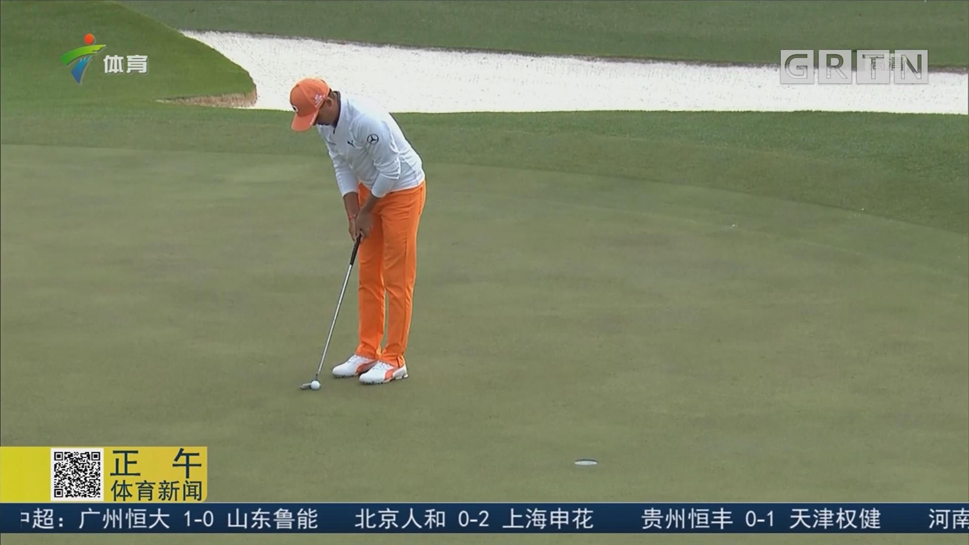 高尔夫美国大师赛 帕特里克·瑞德夺冠穿绿夹克