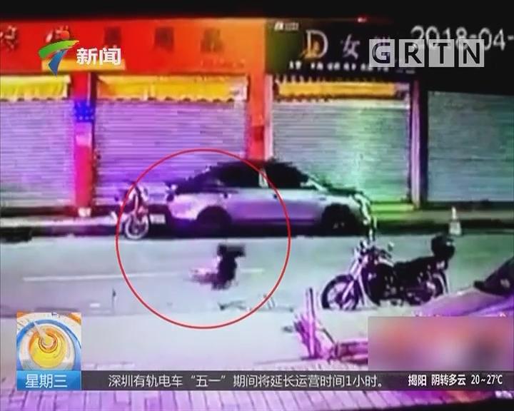 佛山:男子醉倒马路遭车碾死 司机逃逸被抓