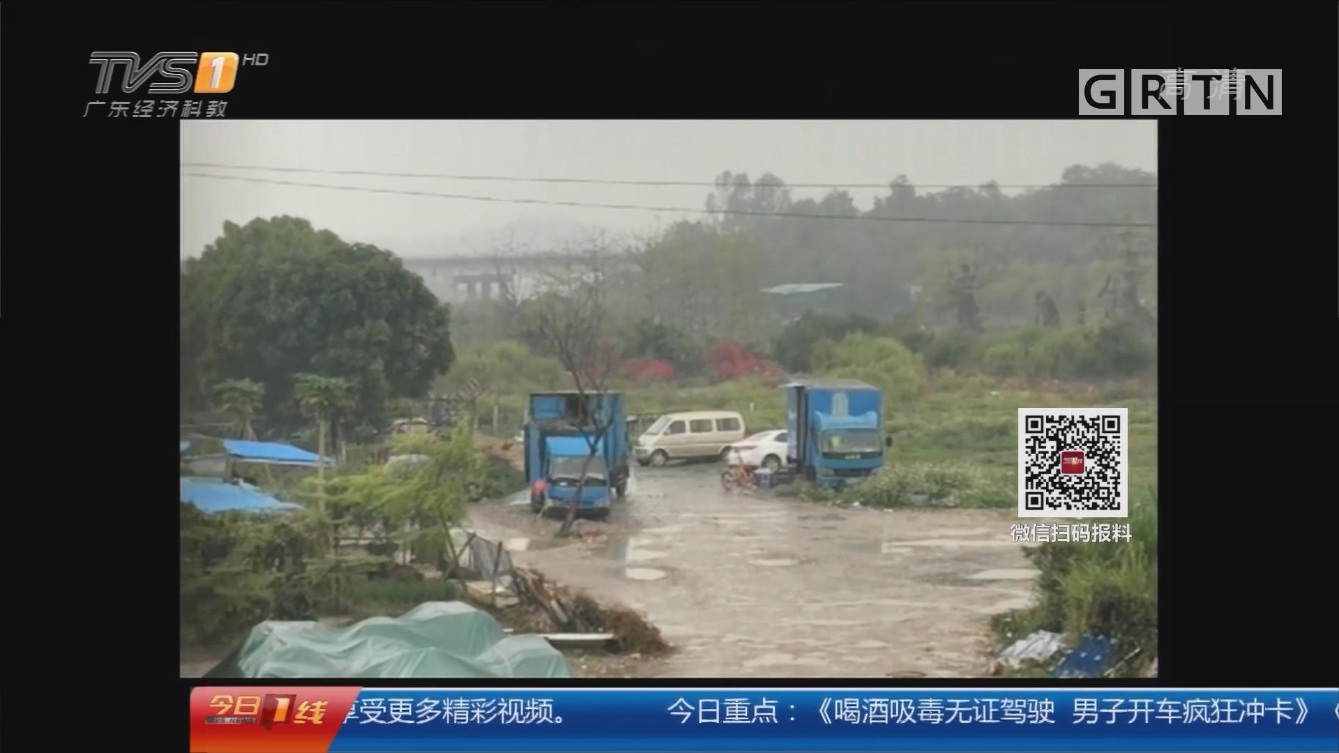 一线独家:深圳非法加油站调查 空地变身黑油站 司机贩卖走私柴油