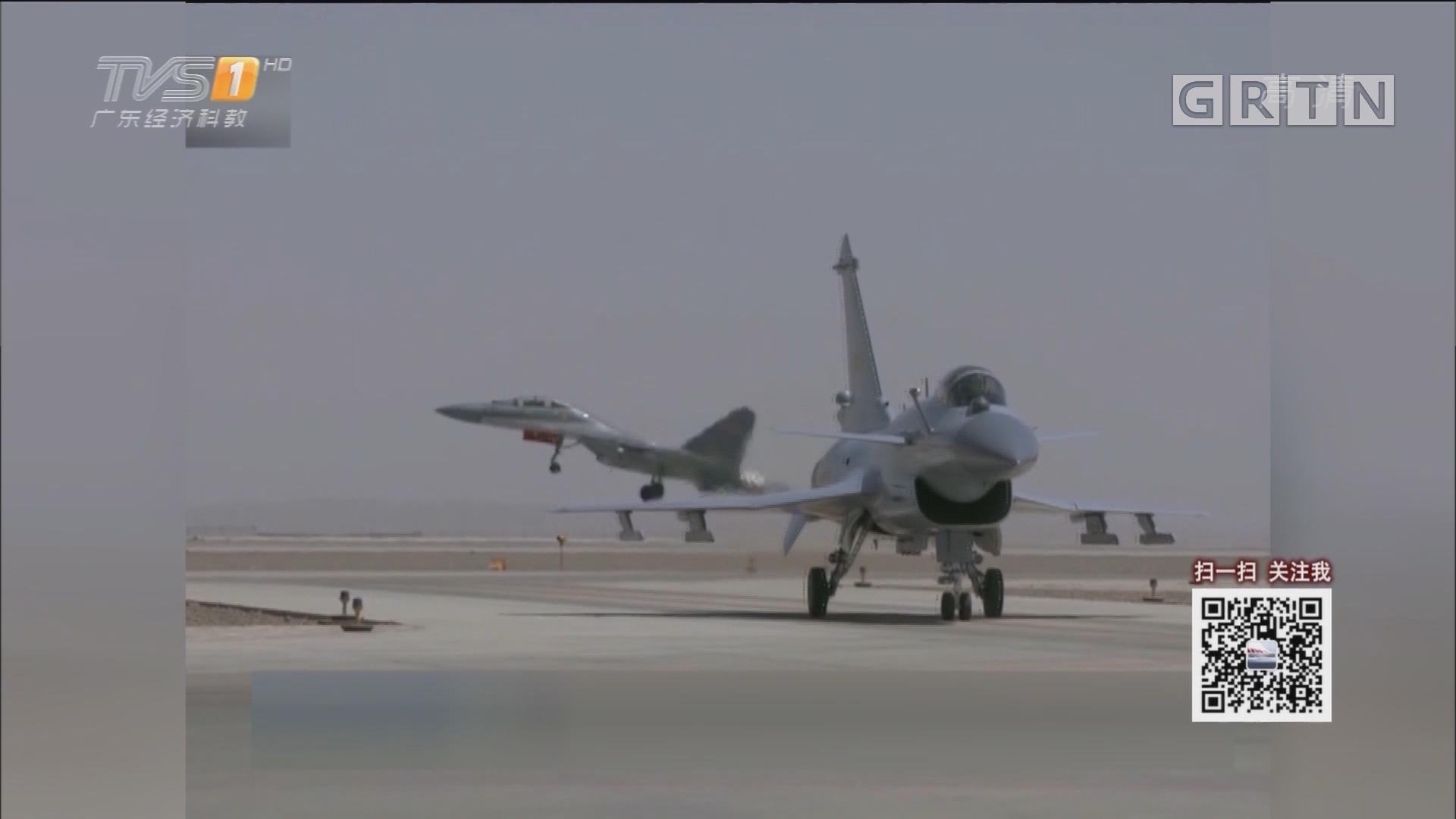 新型战机歼—10C开始担负战斗值班任务