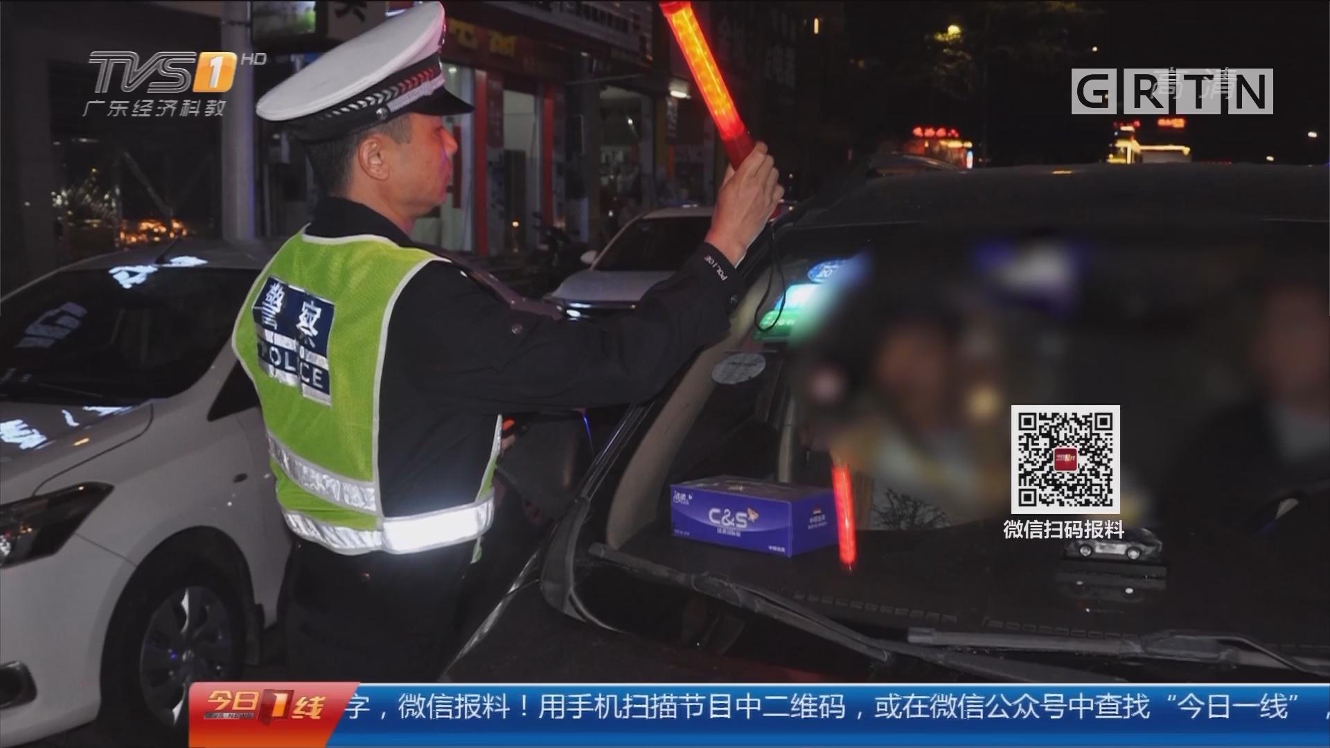 东莞麻涌:酒驾上路 男子大秀演技躲查处