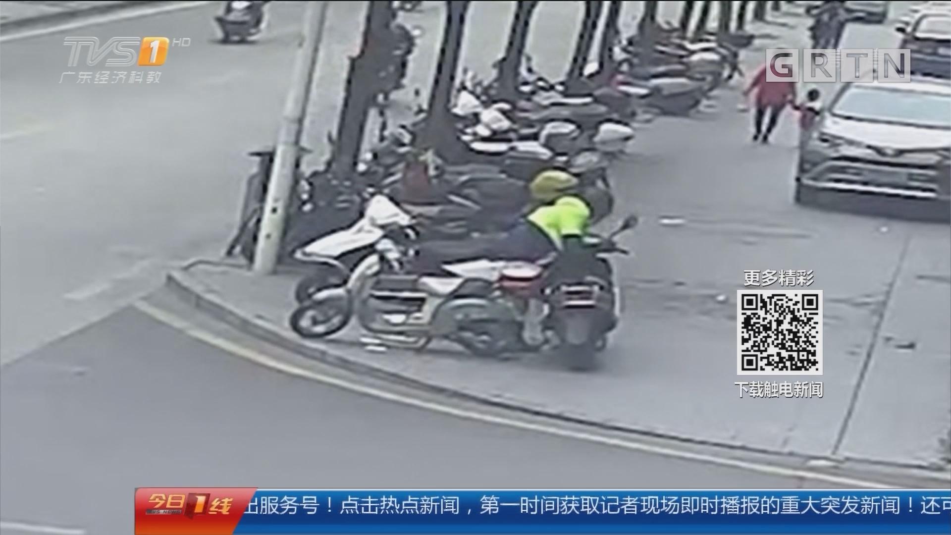 江门鹤山:男子盗电池卖后买毒品 被抓获