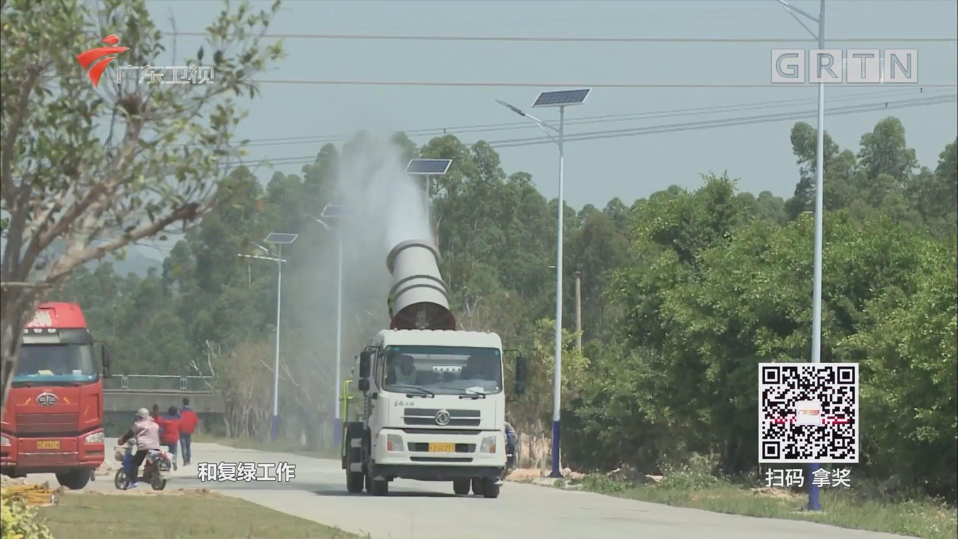 江门恩平:沙湖陶瓷集聚区环境整治初见成效