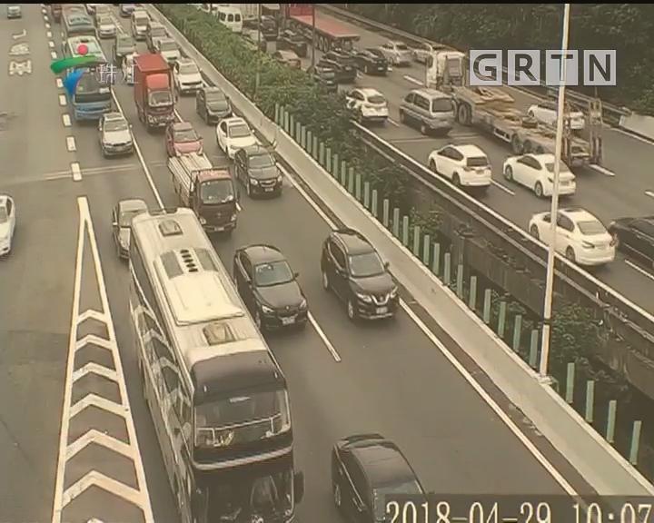 假期首日:省内高速车流平稳