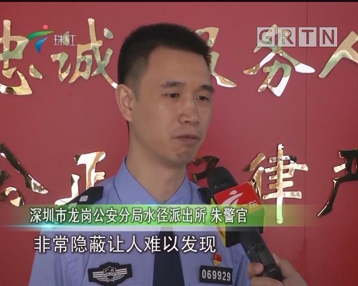 深圳:隐蔽山林设赌场 警方深夜抓捕58人