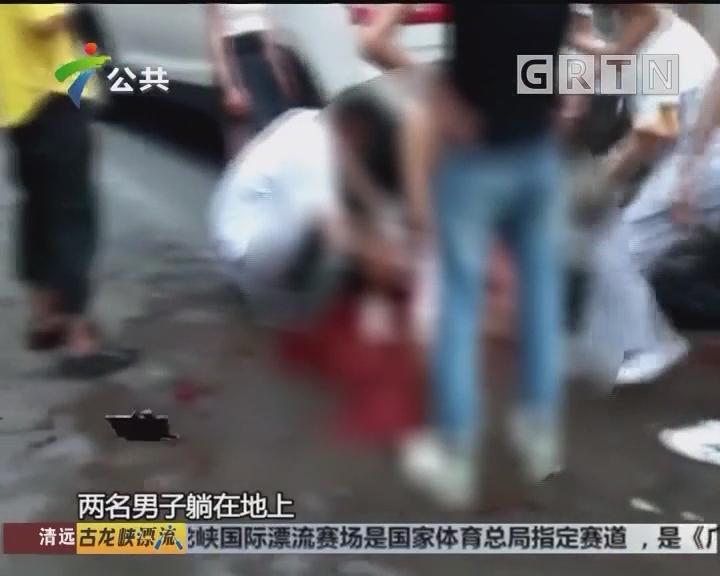 东莞:男子躺卧街头 竟因口角所致