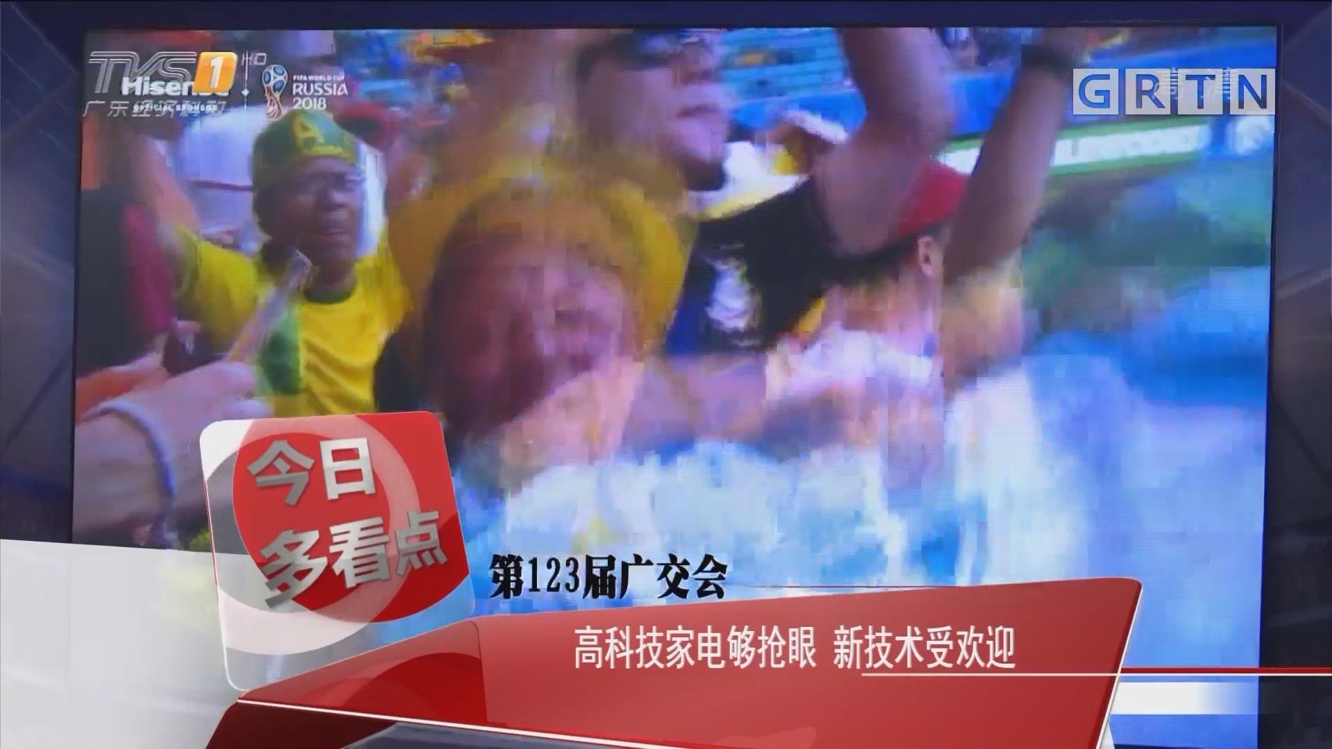 第123届广交会:高科技家电够抢眼 新技术受欢迎