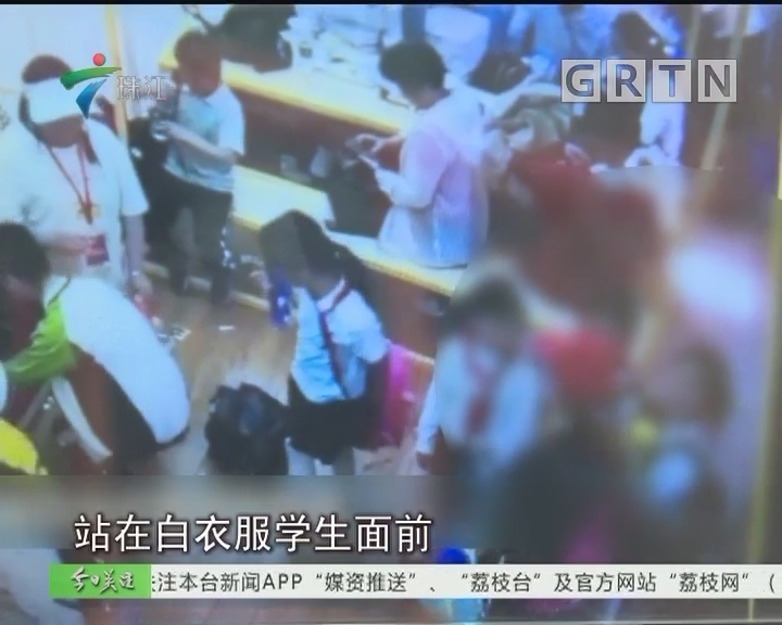 追踪:女童阻插队被打 打人者系假孕妇已被拘