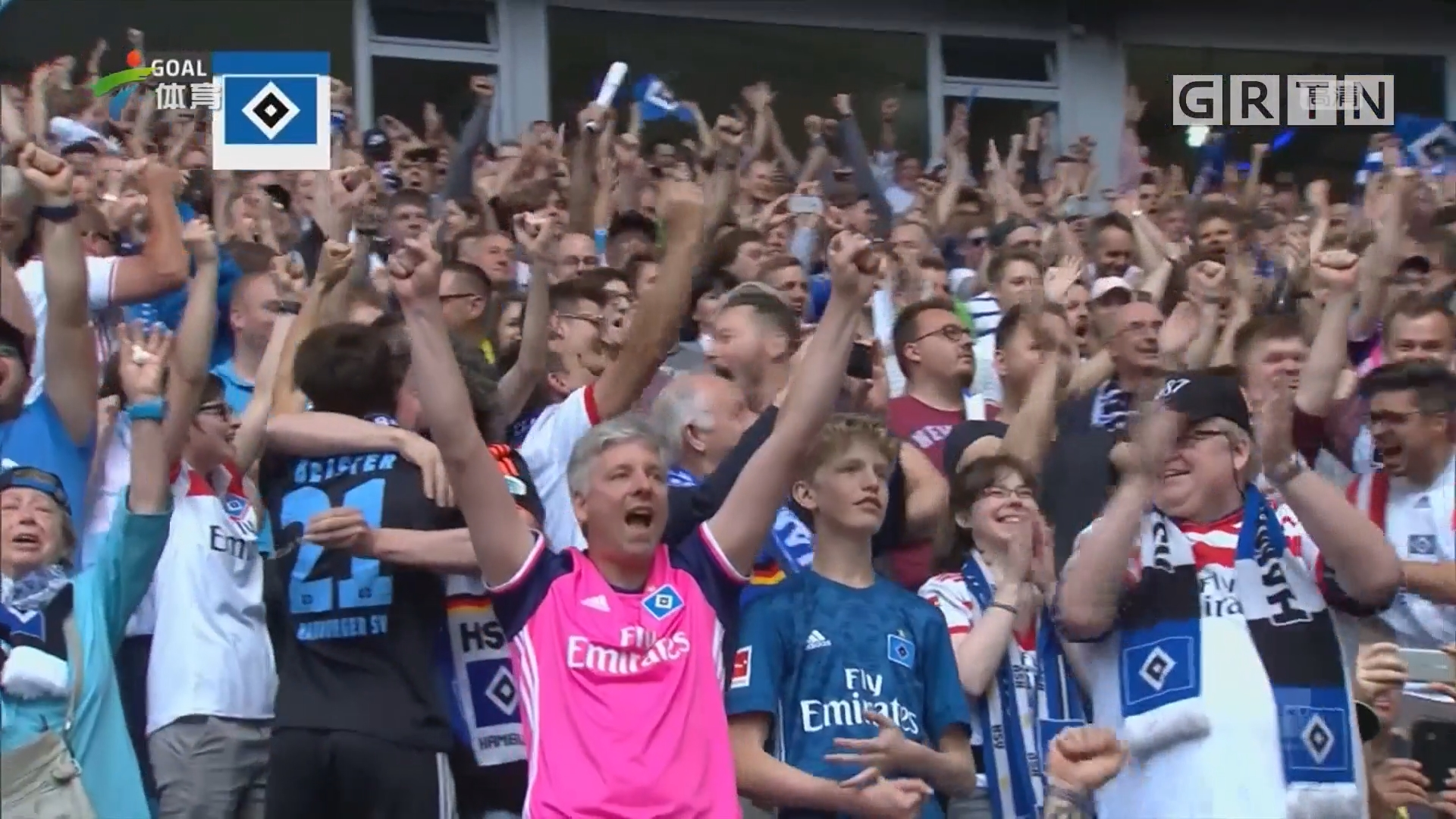 德甲大结局 拜仁夺冠 汉堡降级
