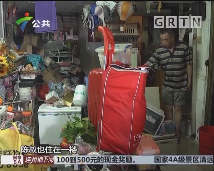 广州:暴雨突袭 数百服装档口被浸