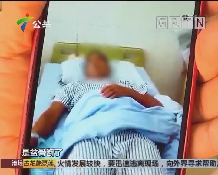 揭阳:偷狗逃跑车被卡 受助脱困反伤人