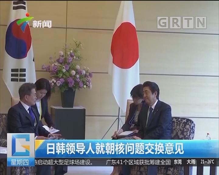 日韩领导人就朝核问题交换意见