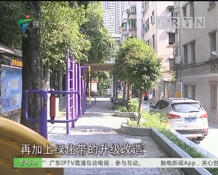 广州:梅花街处处种梅花 小区微改造得民心