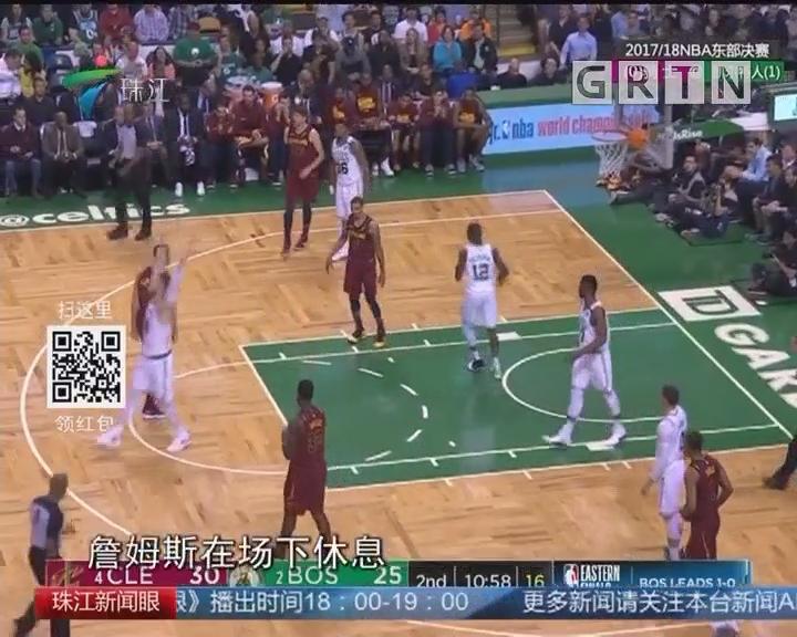 NBA:詹皇空砍42分 绿衫军主场延续胜利
