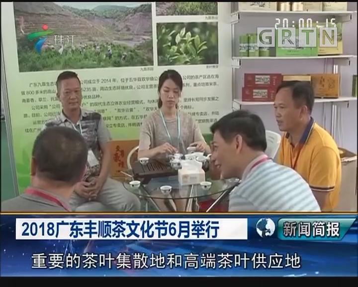 2018广东丰顺茶文化节6月举行