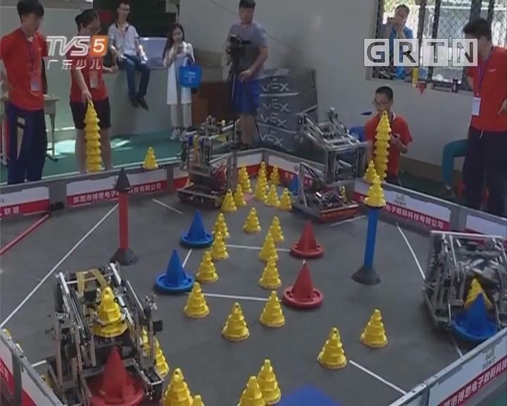 [2018-05-24]南方小记者:第18届广东省青少年机器人竞赛在广州成功举行