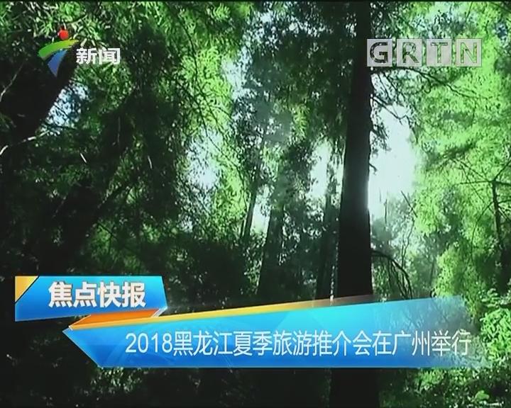 2018黑龙江夏季旅游推介会在广州举行