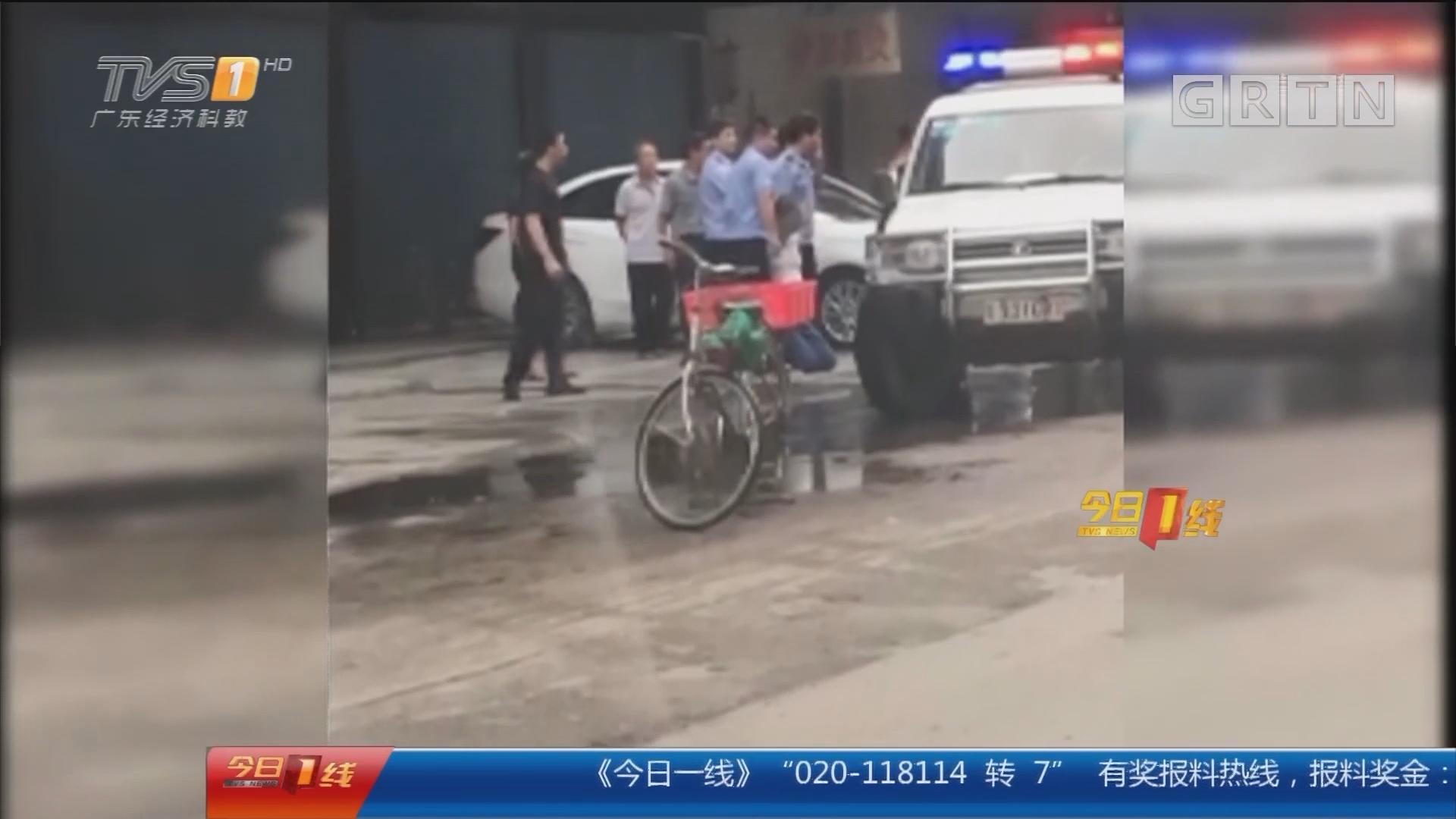 揭阳榕城区:三轮车工友不畏险情 助警追凶