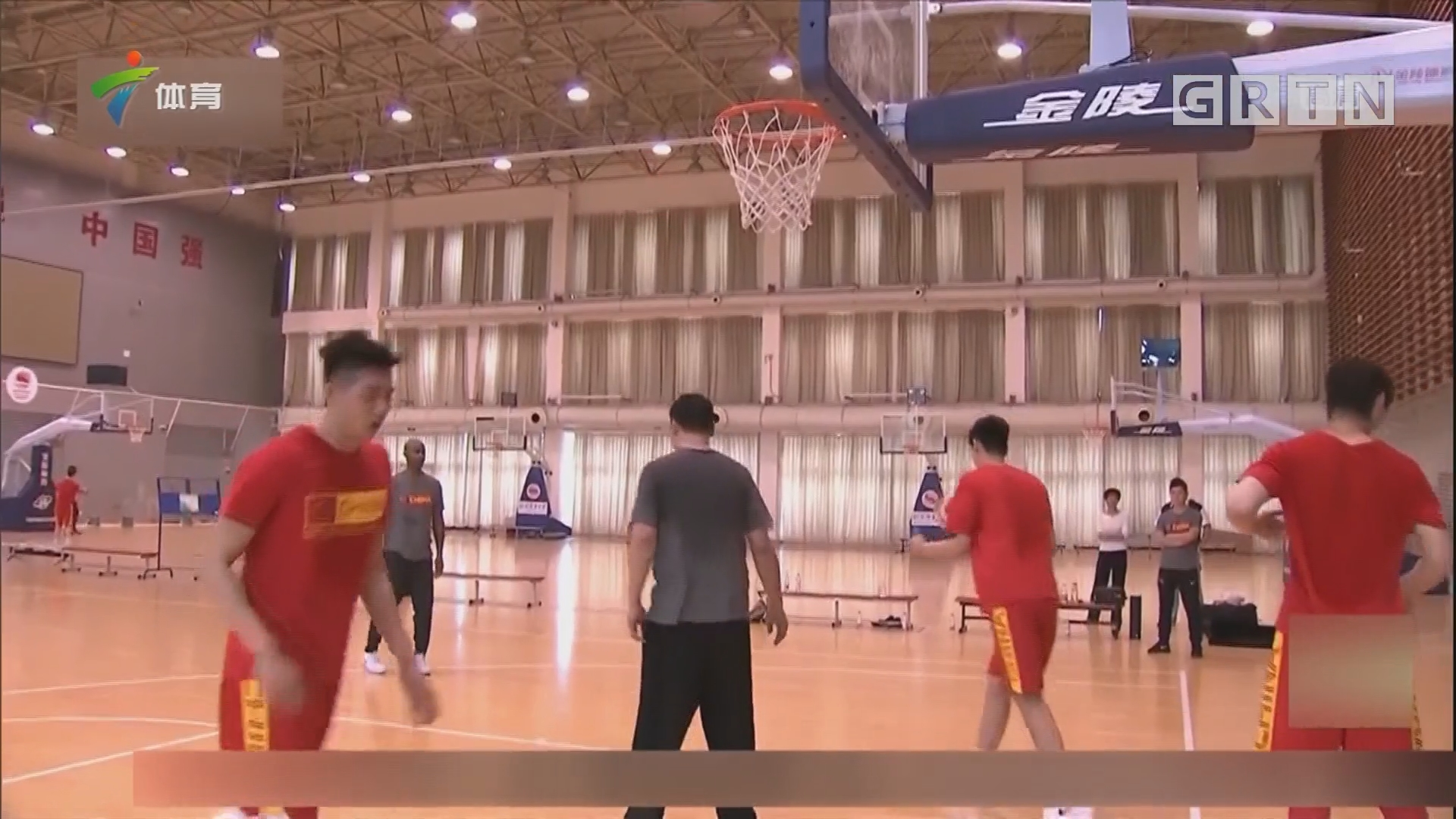 中国男篮红队在京集结