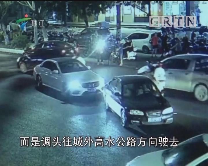 茂名:醉猫肇事强带伤者逃离 警民联手擒获