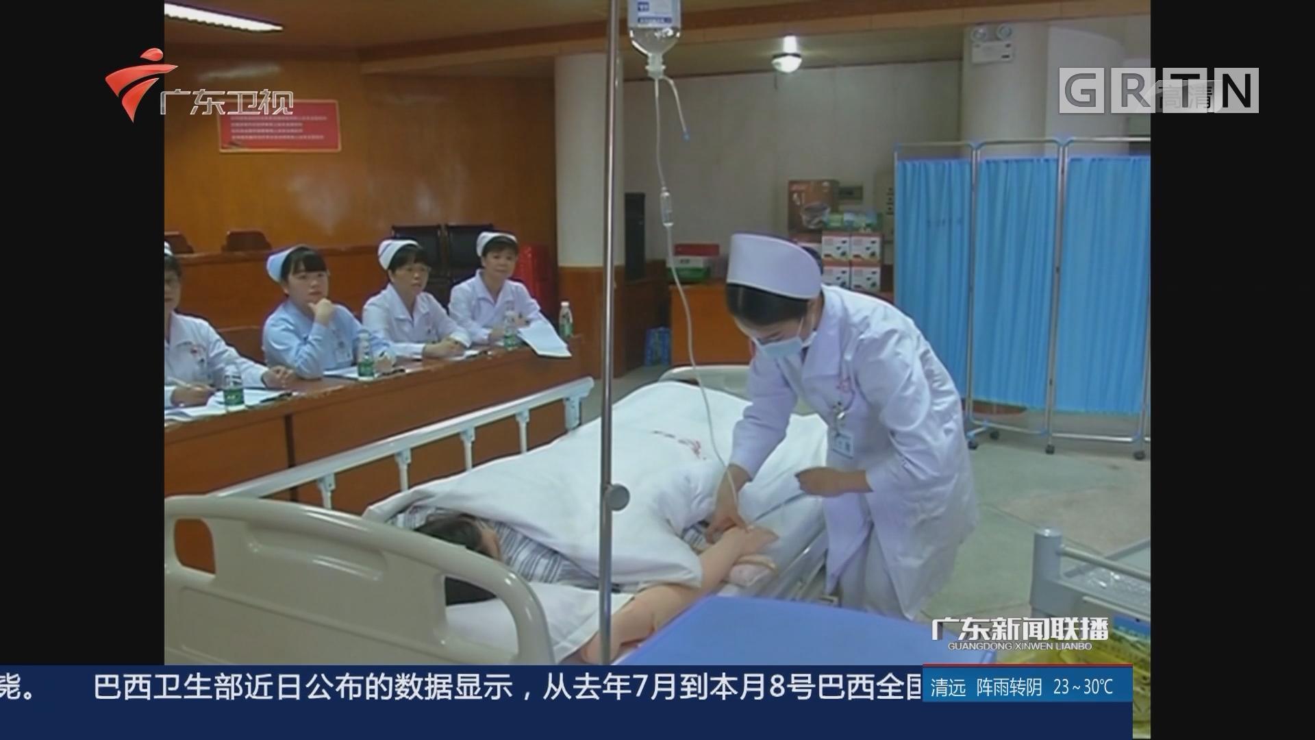 国际护士节:技能大赛展风采