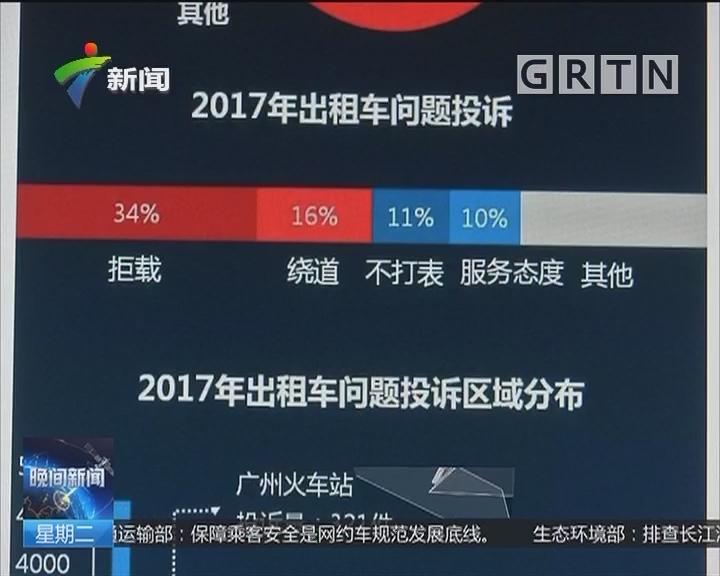 广州出租车今起调价:每辆出租车平均花10分钟完成调表