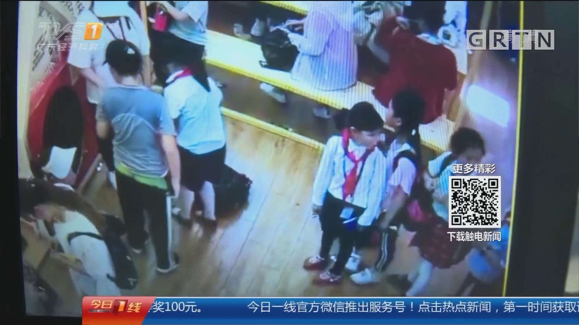 湖南长沙:女童阻插队被推倒 当事人被行拘罚款