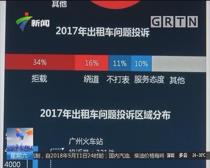 广州 出租车管理新规:司机议价绕道 扣证重考