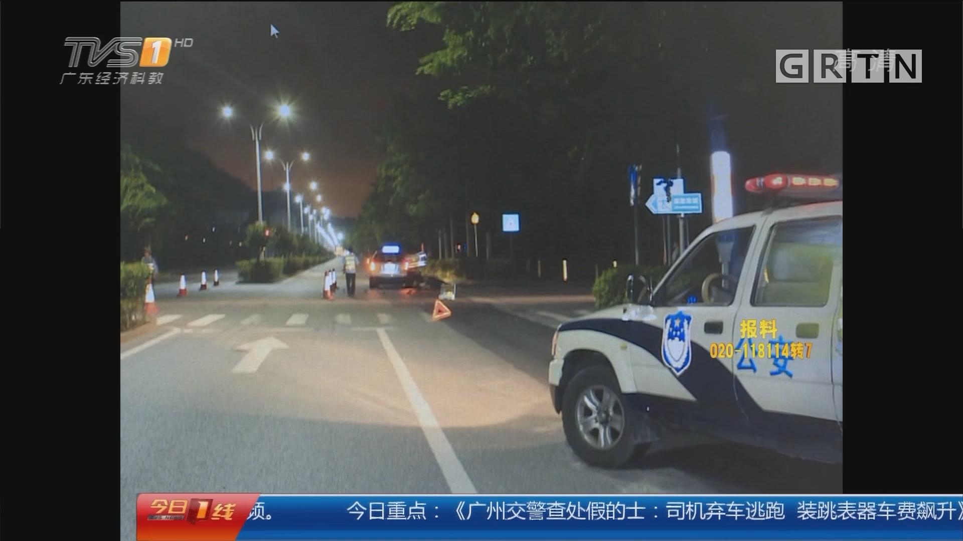 深圳:摩托撞的士一死两伤 骑手酒驾闯祸
