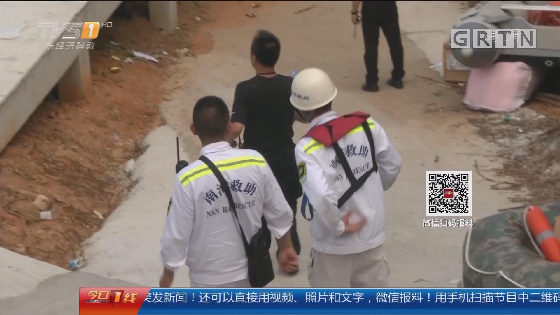 深圳宝安:警方水陆空搜捕嫌犯 打捞仍在进行
