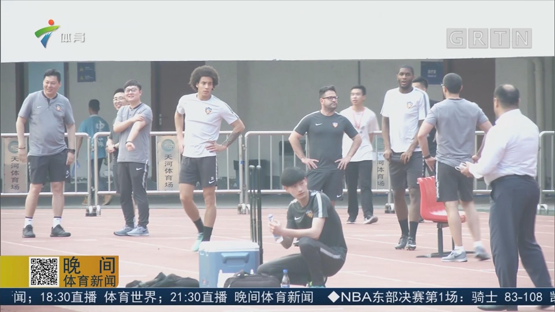 力争客场进球 天津权健目标明确