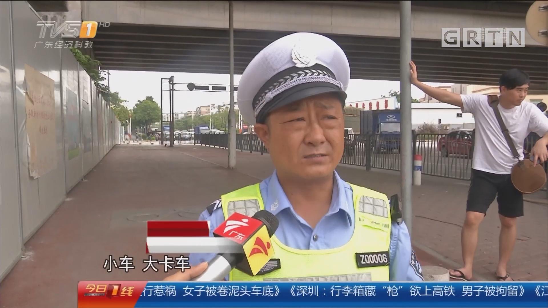 交通安全警示:佛山南海 疑电瓶车逆行惹祸 女子被卷泥头车底