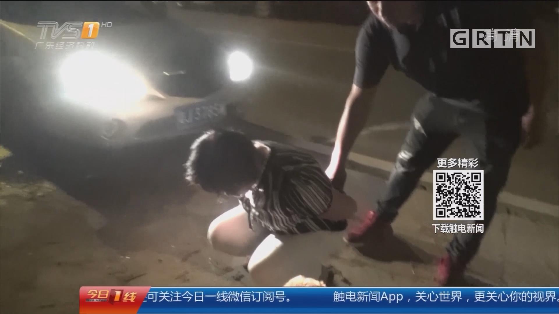 江门台山:女子载小狗街头晃悠 竟是借机贩毒