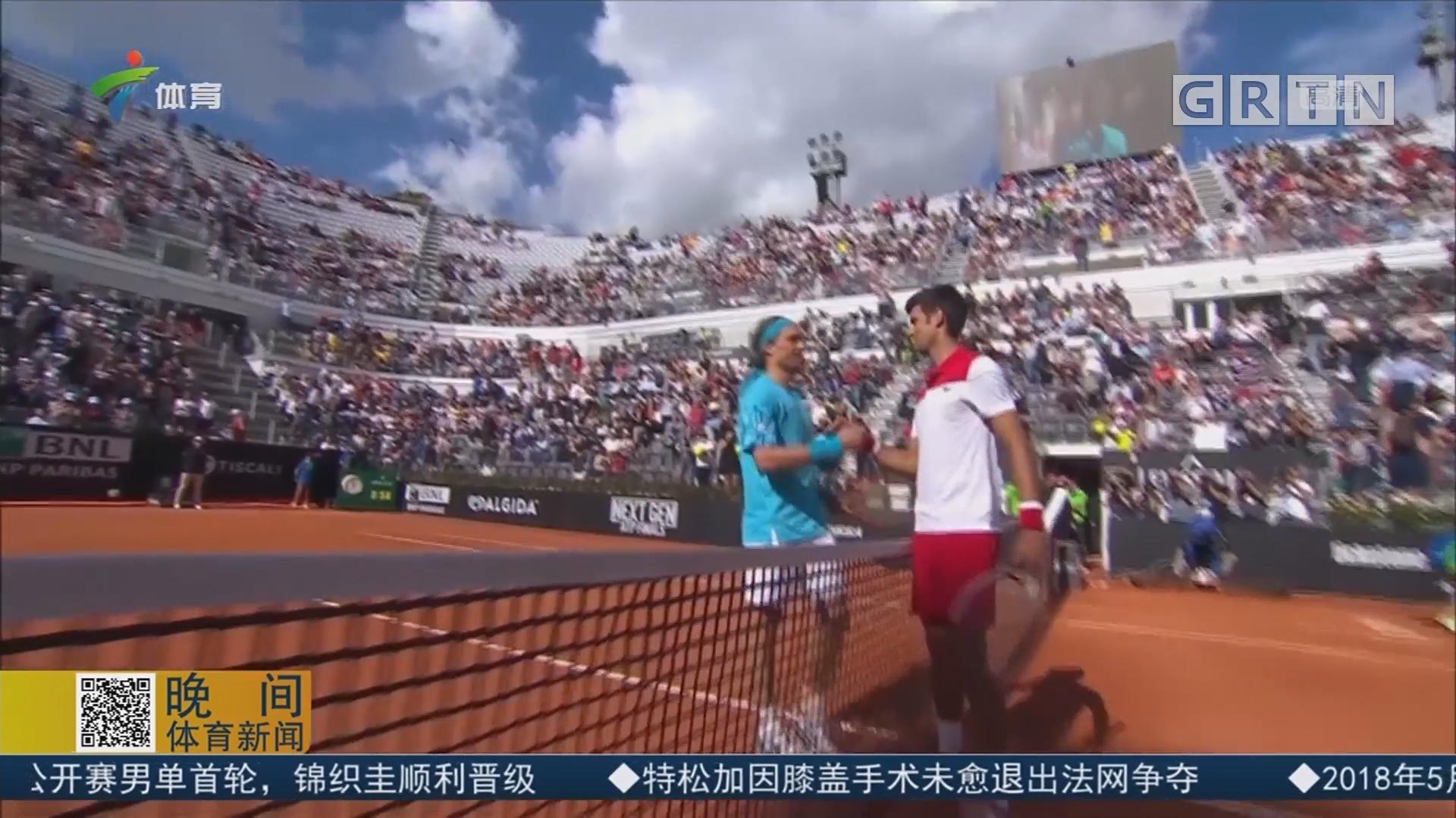 ATP罗马大师赛 德约科维奇轻松晋级次轮