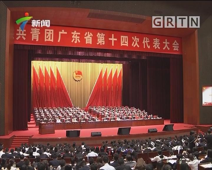 共青团广东省第十四次代表大会召开 李希马兴瑞李玉妹王荣出席
