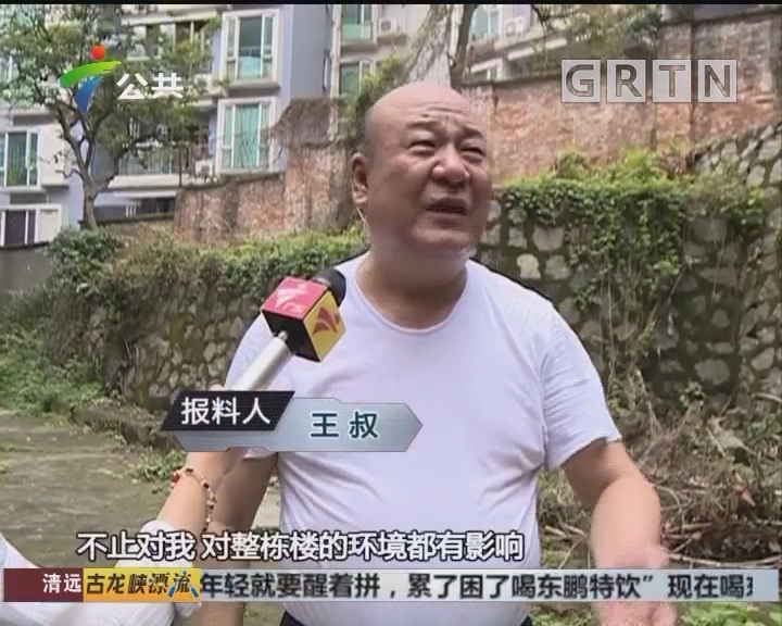 街坊求助:有人乱扔垃圾 家门口成垃圾堆