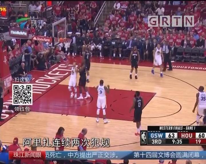 NBA西决 勇士先下一城