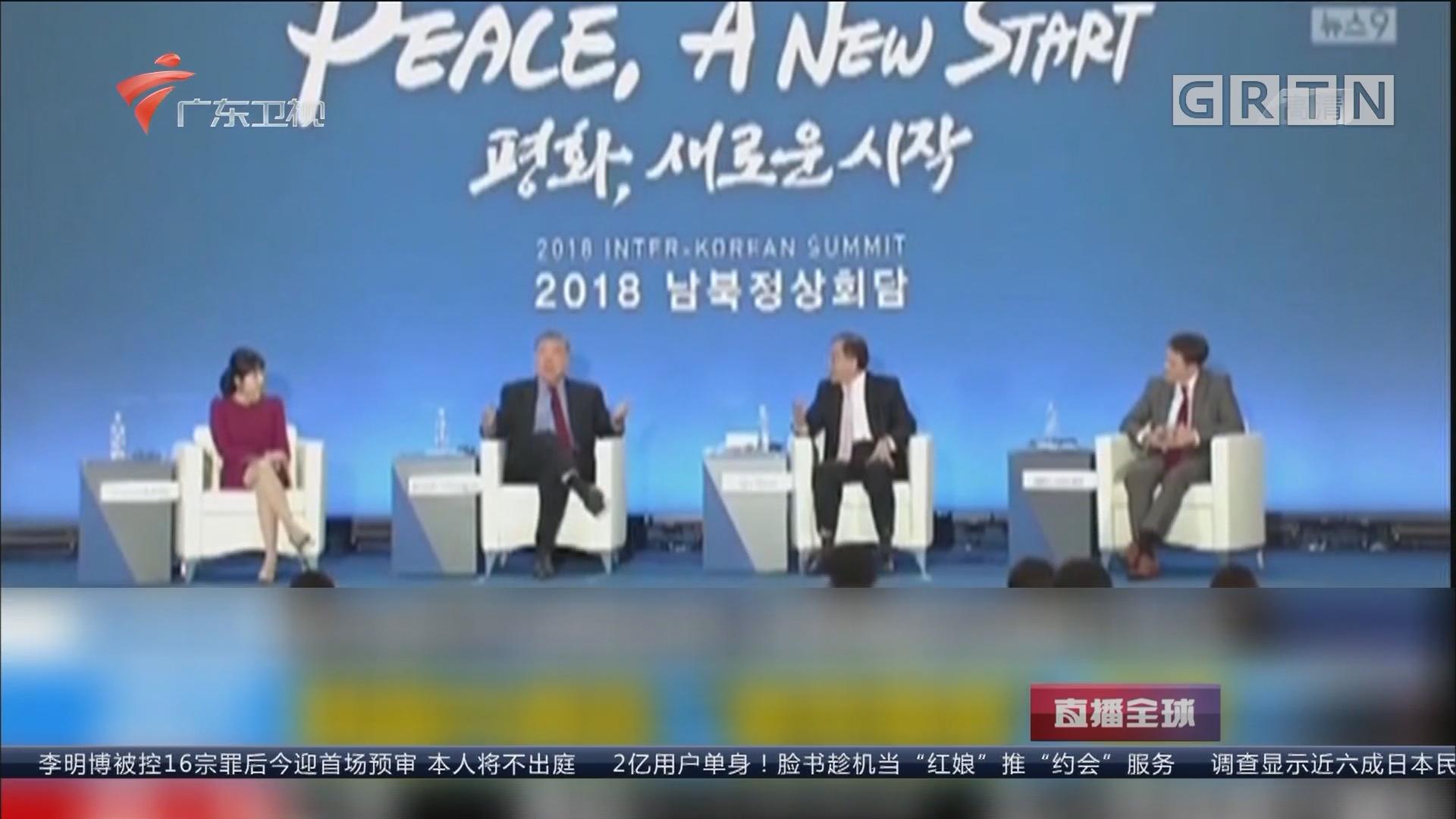 """朝鲜半岛暖意浓 """"美军撤离""""呼声起 韩总统特别助理:签署和平协定 美军或该撤离"""